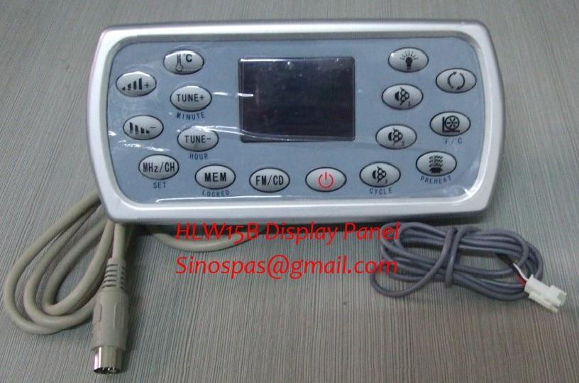 HLW-A-8001/HLW15B الإستحمام لوحة و التحكم لوحة المفاتيح لوحة فقط ل سبا من JNJ ، موناليزا ، jazzipool ، مسيدا ، sunrans و deluex