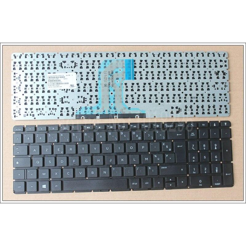 Nuevo Teclado francés para ordenador portátil HP 250 G4 256 G4 255 G4 15-ac 15-ay 15-ac000 15-af 15-af000 Teclado FR sin marco