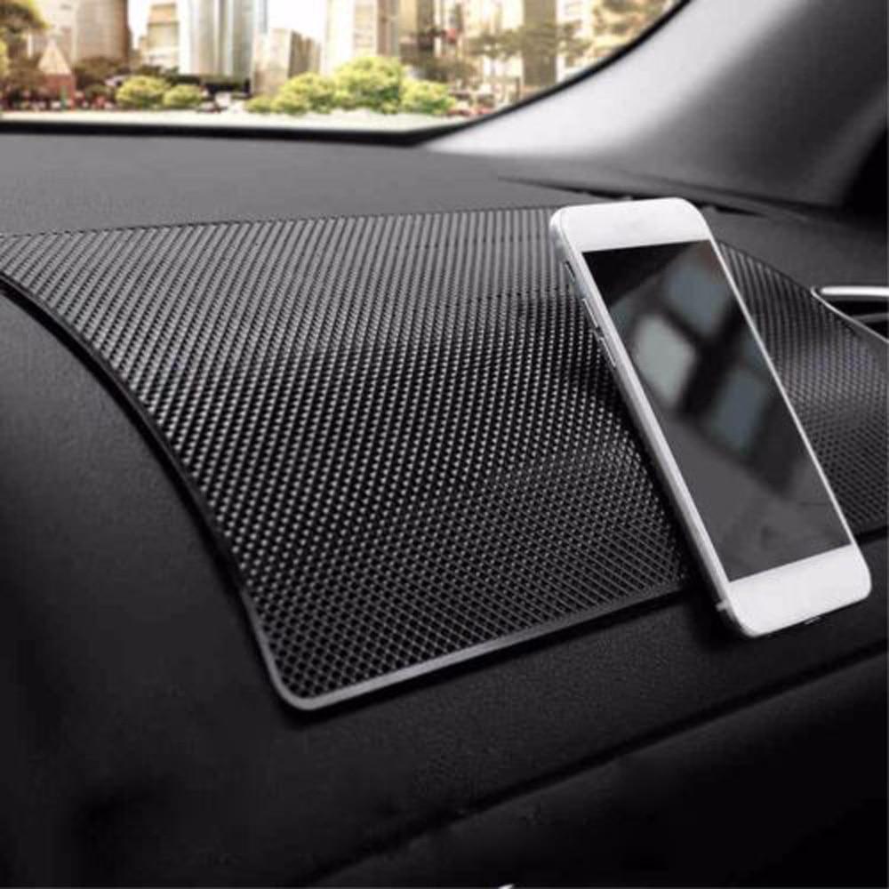 Anti-Slip Painel do carro Almofada Pegajosa Anti-Slip Mat Carro Supportor Titular Moeda Telefone Celular GPS PDA smartphone mat traço Suporte