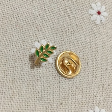 Petite broche et Badge en émail 2 pièces   Petite broche et Badge feuille verte, Sprig Acacia Masonic regalia, broche de revers, Freemason Akasha, cadeau pour homme