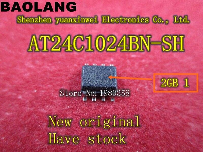 Free Shipping 1pcs/lot AT24C1024BN-SH AT24C1024BN AT24C1024 2GB1 2GB 1 SOP8