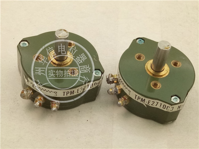 [YK] تستخدم الجهد TPM-E271000 NIPPON-ELECON 1K البلاستيك موصل الجهد التبديل رمح 16 مللي متر