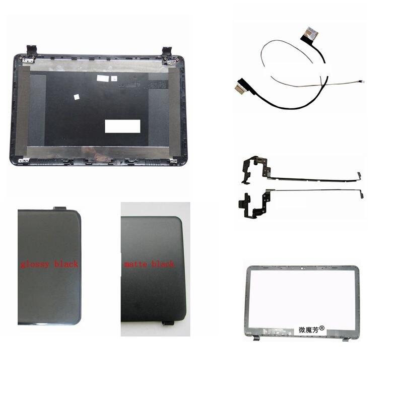 غطاء خلفي LCD للكمبيوتر المحمول من HP ، 15.6 بوصة ، AP14D000C70 ، للموديلات 15-G ، 15-R ، 15-T ، 15-H ، 760967-001 ، إطار أمامي/مفصلات