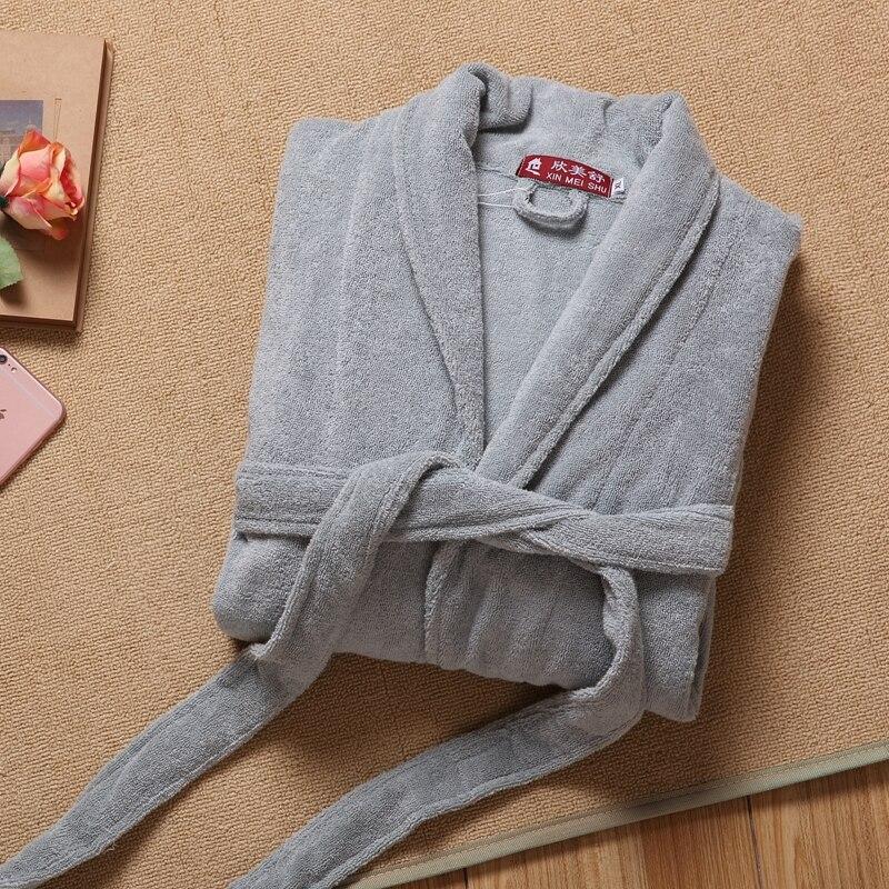 Мужской халат, зимний толстый хлопковый Халат, мужской теплый длинный халат-кимоно, мужской халат, Ночная одежда, домашняя одежда на осень