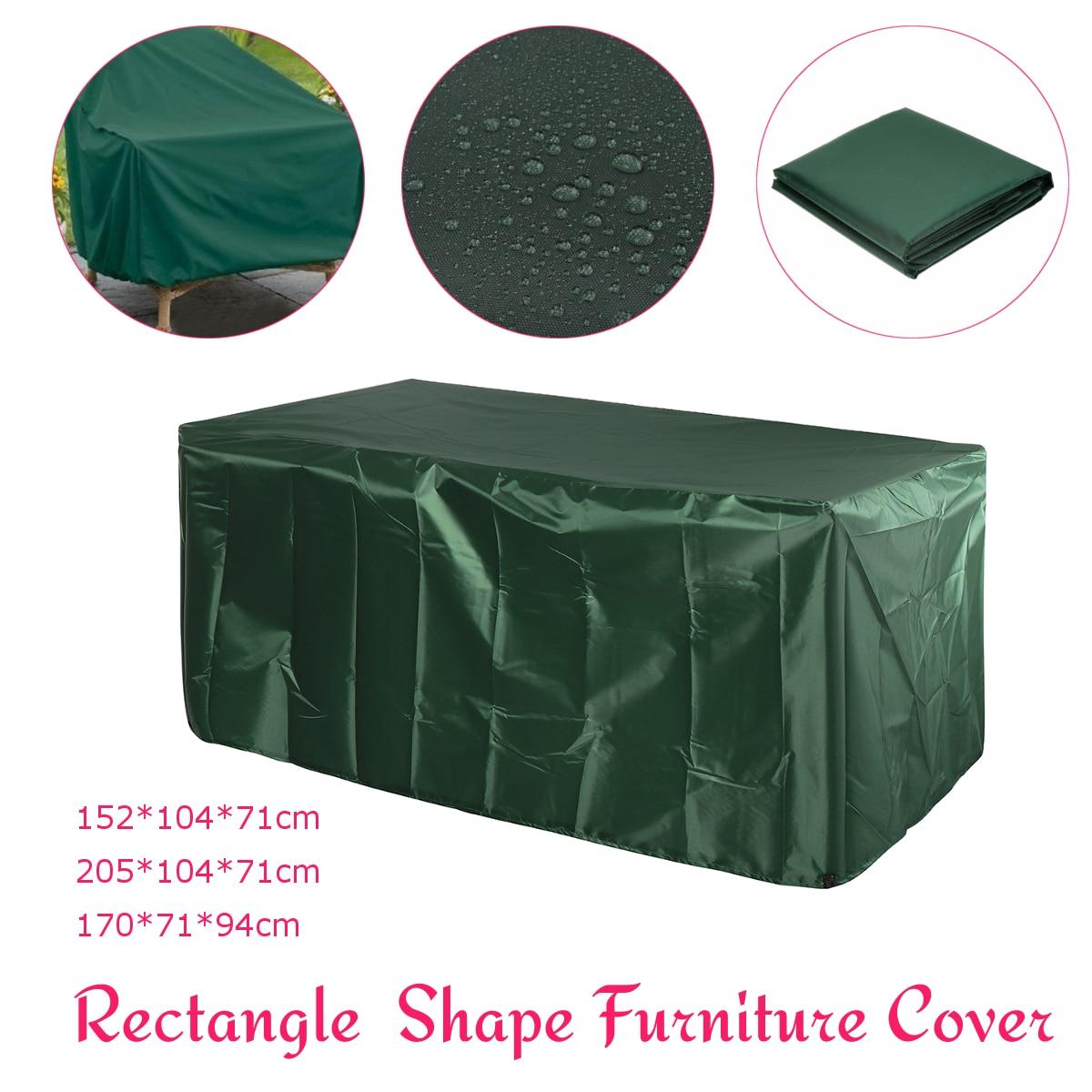 Waterproof Outdoor Garden Patio Furniture Cover Set Table Sofa Bench Wicker Sofa Set Protection Rain Snow Dustproof Covers