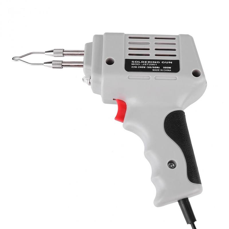 220v 2000w hot air gun powerful mini hand tools lcd temp adjustable heat gun 2 nozzles for soldering and welding tgk 8920e Selling Electrical Soldering Iron Gun Hot Air Heat Gun Hand Welding Tool With Solder Wire Welding Repair Tools Kit EU 220V 100W