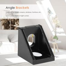 10 stück 2020 Aluminium Ecke 20x20 L Form Rechtwinklig Unterstützung Stecker Extrusion Industrie Aluminium Profil 0,9x0,6 cm