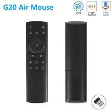 G20 G20S Gyro Akıllı Ses Uzaktan Kumanda IR Öğrenme 2.4G Kablosuz Fly Hava Fare X96 Mini H96 MAX x99 android tv kutusu vs G10