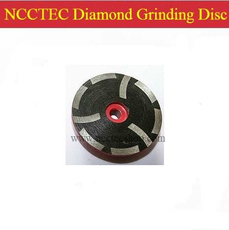 Rueda de la taza de molienda de diamante rellena de resina de 4   disco de molienda de prensa en caliente de mármol de granito de 100mm   previene eficazmente el daño del borde de la piedra