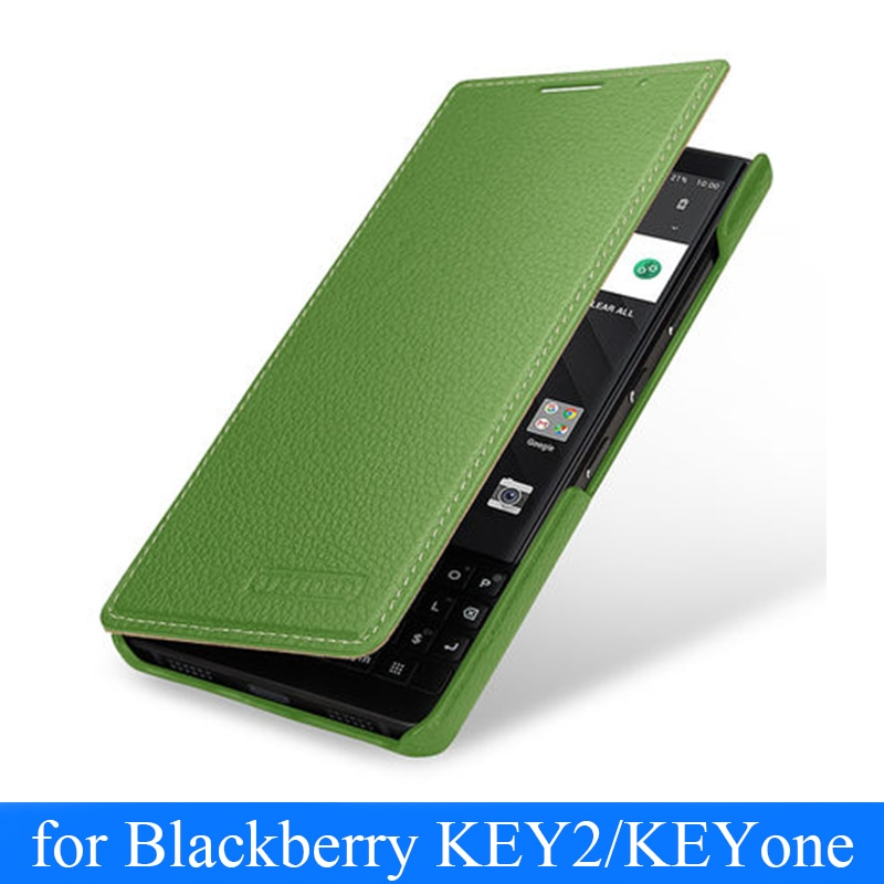 حافظة جلدية أصلية لجهاز Blackberry KEY2 ، حافظة هاتف ، أعمال ، غطاء لجهاز Blackberry KEY 2 ، Blackberry KEYone