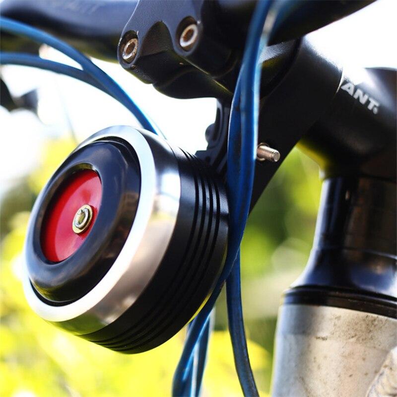 Timbre de bicicleta de 1300 mAh con alarma de sonido fuerte para M365 MTB alarma antirrobo de seguridad