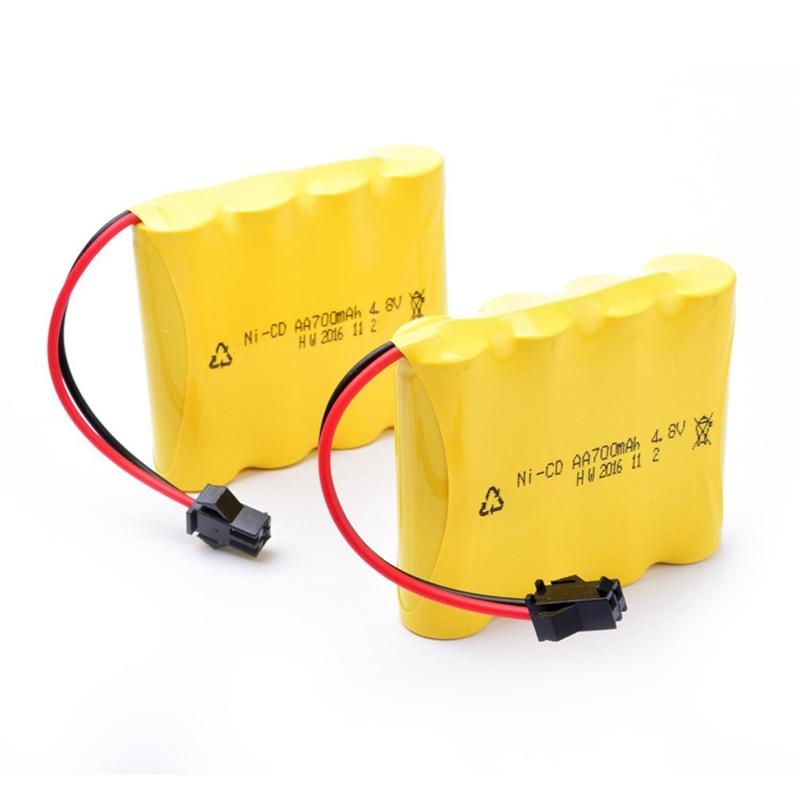 GTF 1PCS 4.8V 700mAh Nickel cadmium battery pack AA Battery for Remote Control Car