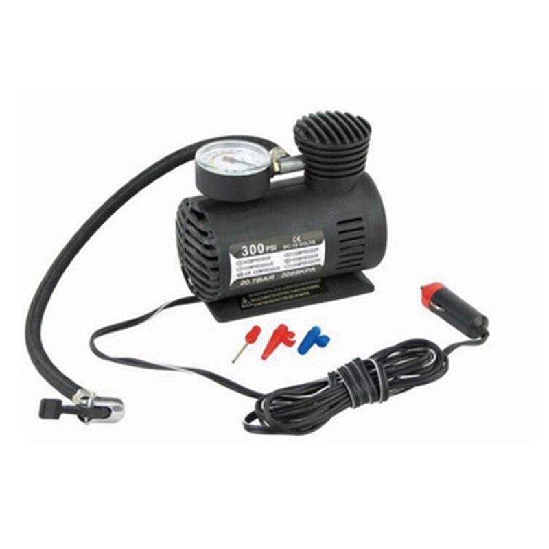 Mini compressor de ar inflável para carro, compressor de ar para carro 300 psi bomba de ar para pneu de moto e cigarro isqueiro mais leve