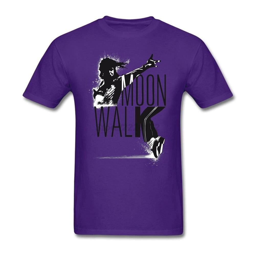 Camiseta de la marca de baile Michael Jackson, Camisetas prealgodón de la...