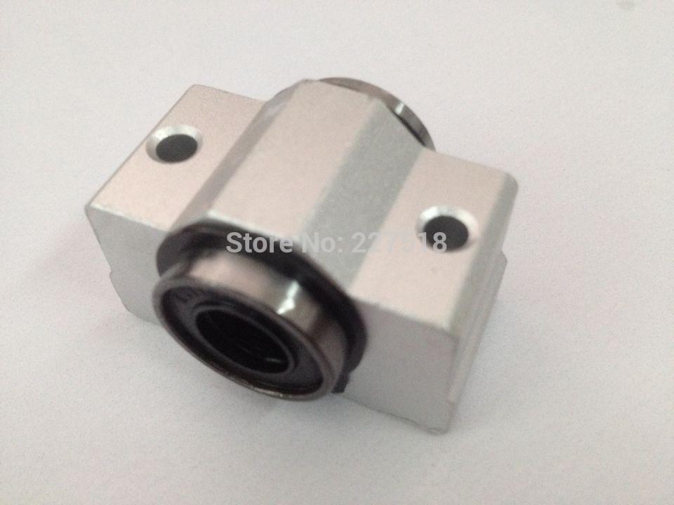 4 piezas SCV12 SCV12UU SC12VUU 12mm cojinete lineal casquillo SC12VUU con rodamiento LM12UU dentro para CNC