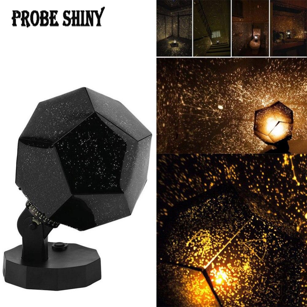 De Estrellas celestes cielo proyección Cosmos noche luces proyector, lámpara de noche estrella romántico dormitorio iluminación de decoración