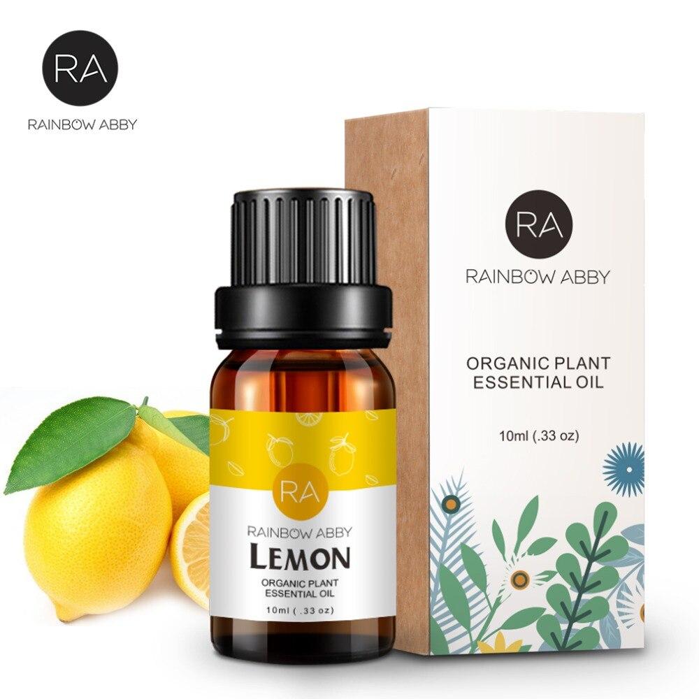100% natürliche Reine Zitrone Ätherisches Öl 10 ml für Erhellen und Whitening Verbessern Stumpfe Haut Gesichts Pflege Schönheit Massage Öl