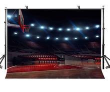 150x210 cm Lege Basketbal Hof Achtergrond Lege Basketbal Hof Lone Basketbal Mand Fotografie Achtergrond