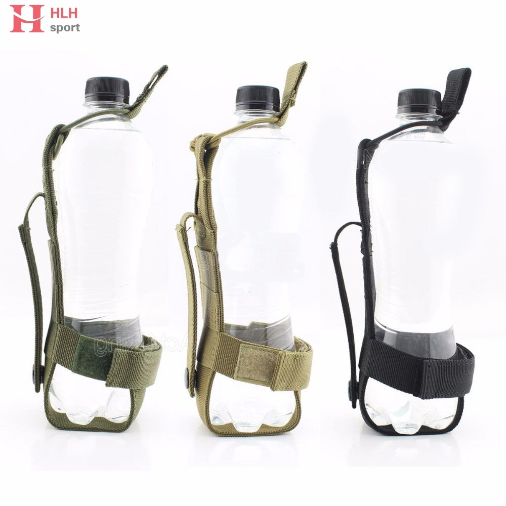 Rápido Rastreamento De Código-Ao Ar Livre Garrafa De Água Molle Acessórios de Caça Bolsa Minimalismo Saco Da Cintura Nylon Transportadora Molle Cantina Holde