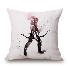 RUBYLOVE/оптовая продажа, домашняя декоративная мультяшная супер Подушка с героями Marvel, наволочка, цветная наволочка с изображениями из «мстит...