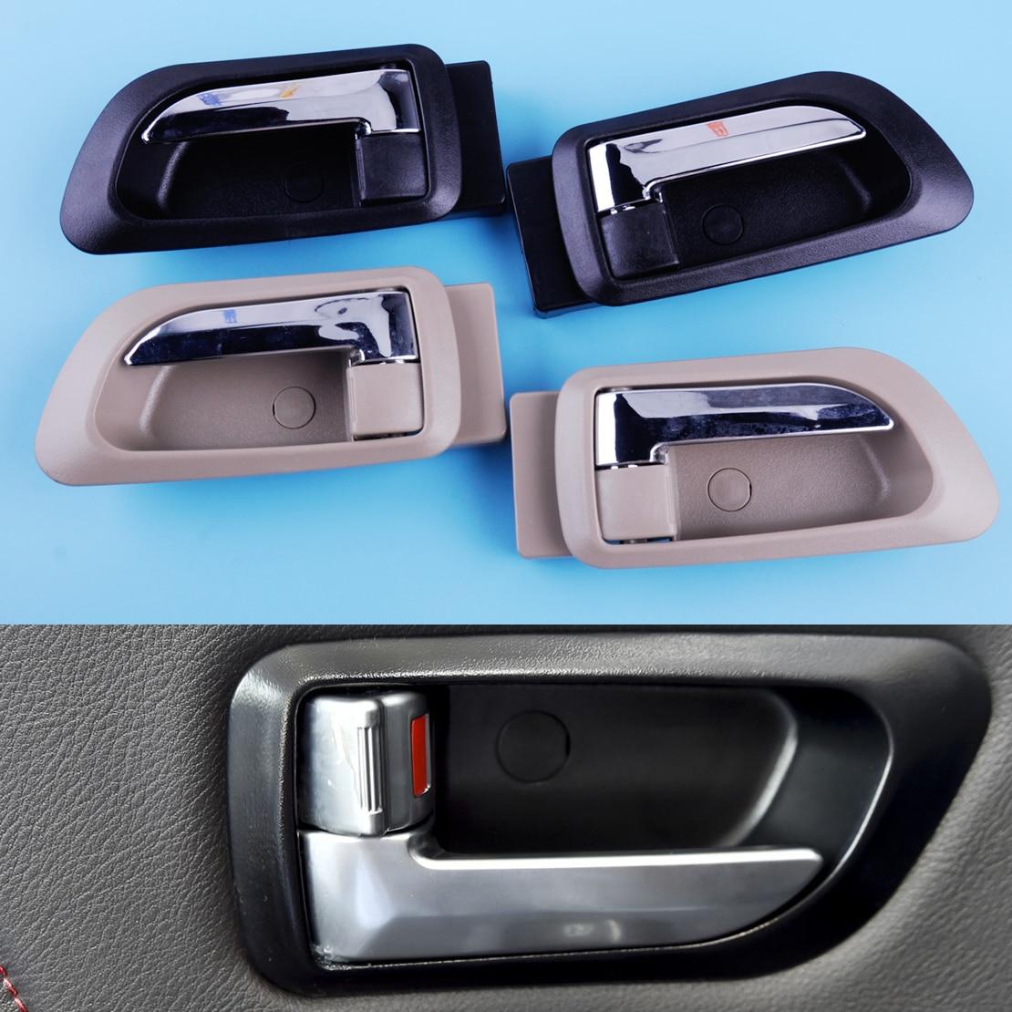 Dwcx um par de maçaneta da porta interna do carro frente esquerda direita 6105100-k80 6105200-k80 apto para great wall x200 2011-2017x240 2010-2016