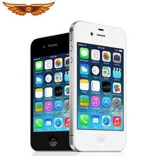 Apple iPhone 4s Apple A5 Dual Core 3,5 pulgadas/8/16/32/64GB ROM GSM 8MP Cámara WIFI GPS IOS Apple 4S Original desbloqueado teléfono móvil