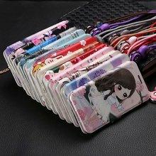 Rode mi 6 S2 LEUKE Geschilderd Flip Wallet Stand Leather Case Voor Xiao Mi rode mi 6A case op ROOD mi 6 pro Note 5 pro 4X MI A2 lite K20 Pro