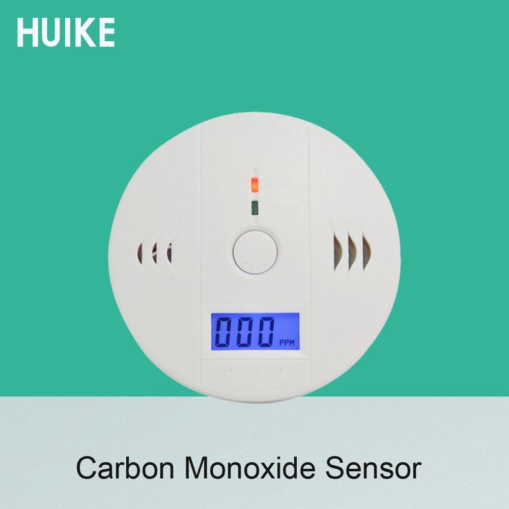 (1 uds) alarma de Detector de Gas de protección de autoseguridad contra el envenenamiento por monóxido de carbono de uso interior independiente sin batería