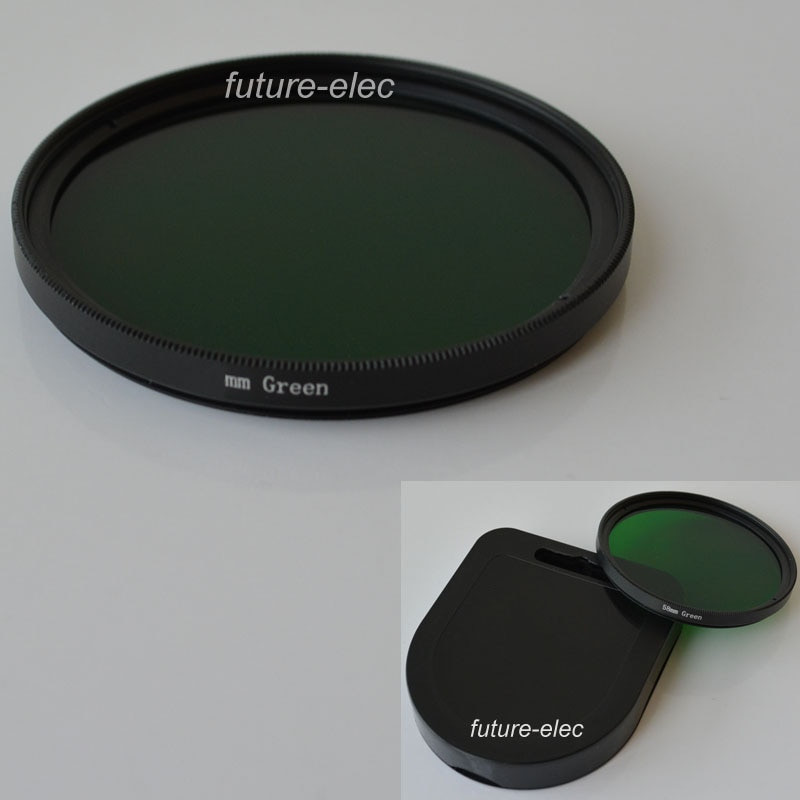Verde 30 mm 37 mm 40.5 mm 43 mm 46 mm 49 mm 30 37 40.5 43 46 49 Full Color filtro de cores para Olympus Pentax Samsung lente lentes da câmera