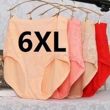 3XL, 6XL, 7XL Super grandes slips pour femmes sous-vêtements en fibre de bambou de haute qualité 5 pcs/lots