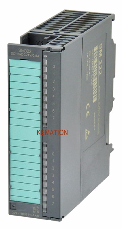 Compatible con 6ES7322-1BH01-0AA0 6ES7 322-1BH01-0AA0 S7-300 Módulo de salida Digital 6ES73221BH010AA0 SM322 16 hacer 24 VDC/ 0.5A nuevo