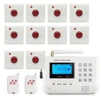 Systeme dalarme GSM sans fil 433mhz  bouton etanche de 86mm  systeme dappel durgence  capteur intrus de securite domestique  offre speciale