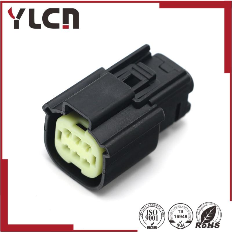 Conector de pedal de acelerador de velocidad de vehículo hembra de 6 vías Envío Gratis para molex 33472-0601