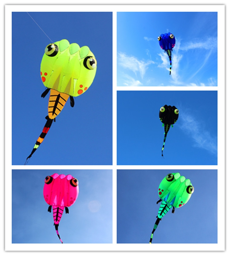 free shipping large tadpole soft kite line ripstop nylon kite flying for adults outdoor toys weifang kite factory octopus недорого