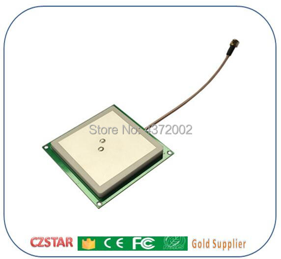 902-928 MHz circular 5dBi gain rfid uhf reader antenna used for conference attendance control access parking lots management