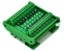 Montaggio Su Guida DIN 1 Amp 1000 V Anodo Comune 16 Diodo Modulo di Rete, 1N4007.