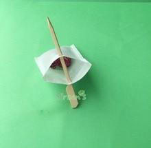 Spedizione gratuita! 5000 pz 60*80 millimetri Filtri di Tè PIÙ IL BASTONE-bustina di tè Vuota-Filtro di carta-Caffè filtro -bag, formato speciale custom made