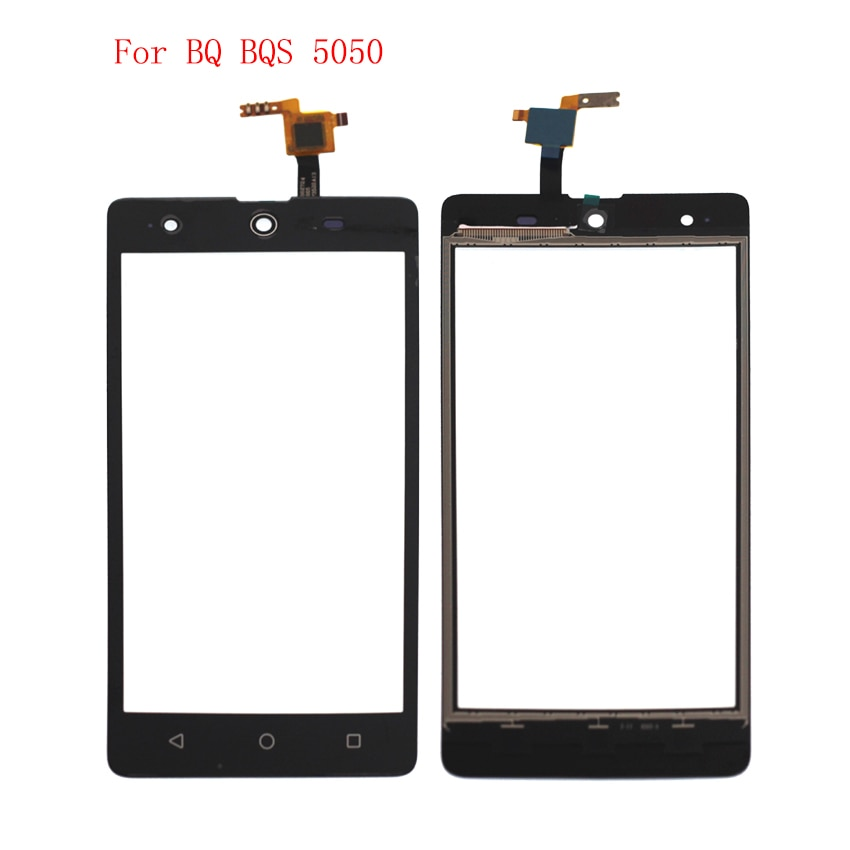 High Quality For BQ BQS 5050 Touch Screen Panel Digitizer Assembly Phone Parts With Free Shipping And Tools