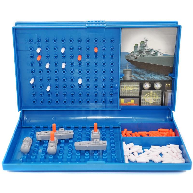 Детская игрушка корабль игра мозговой штурм стратегии морской боевой сборки родитель-ребенок Интерактивный Стол Тур Вечеринка игра подаро...