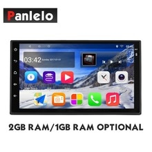 Panlelo-autoradio S10/S10 Plus   Android 8, 2 go/1 go de RAM 32/16 go de ROM, GPS, Navigation, lecteur multimédia, autoradio AM/FM/RDS BT, musique