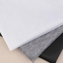 100cm 25g/45g blanco gris negro tela no tejida Interlinings & Linings hierro en costura Patchwork adhesivo de una sola cara 1 ud.