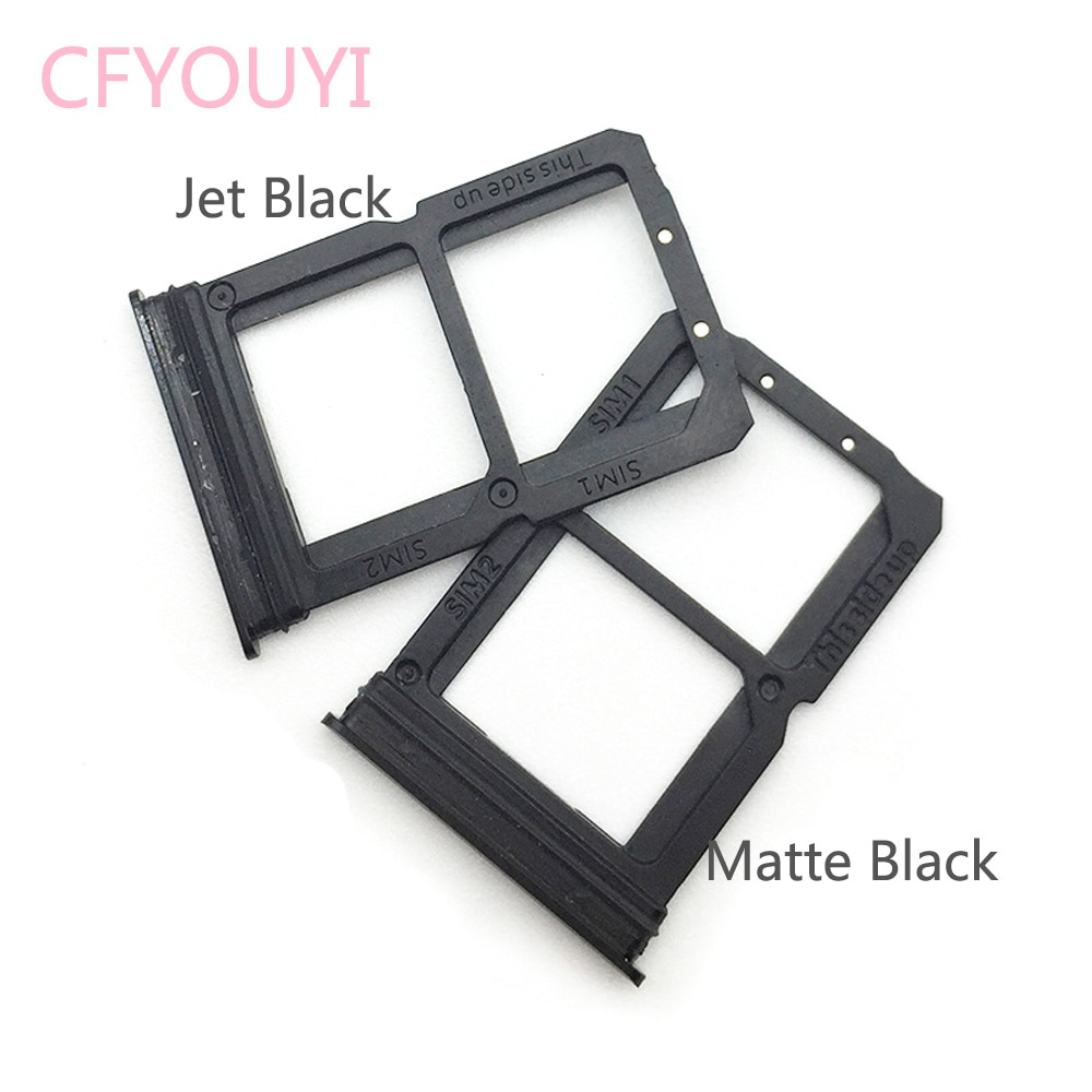 Original Dual SIM Card Tray Slot Adapters Replacement Part For Oneplus 6 1+6 SIM Tray