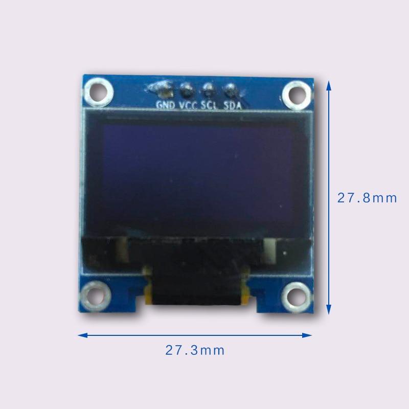 0.96 Inch Oled-scherm 12864 Lcd-scherm Module Iic Interface 12864 Module Biedt De Schema Voor Arduino