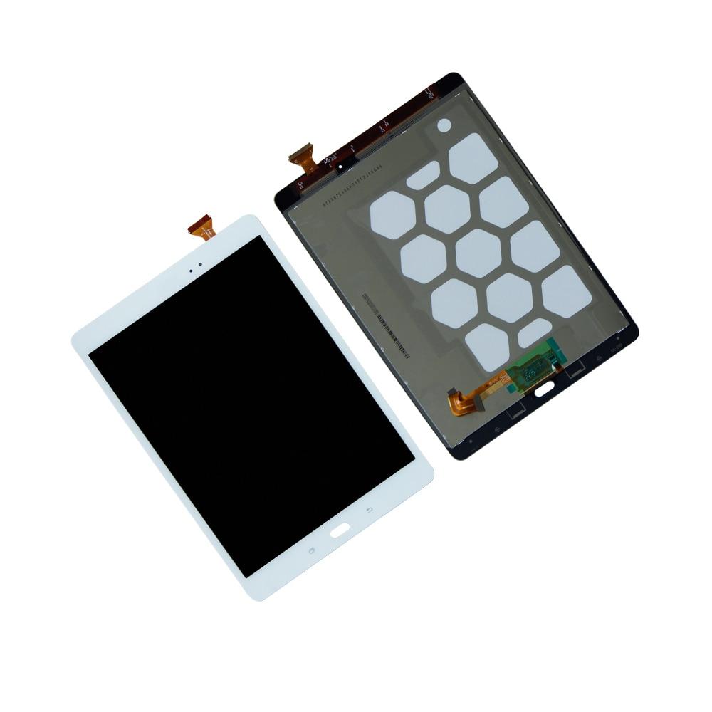 Montaje de pantalla LCD de Digitalizador de pantalla táctil para Samsung Galaxy Tab A 9,7 SM-T550 T550N T555 T551 piezas de reparación de pantalla LCD