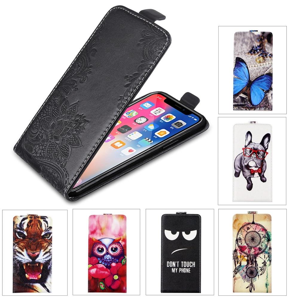 For Huawei P8 9 Lite 2017 P10 P20 P30 Lite Case TPU 3D Flower Cute Cartoon Flip Leather Case Honor 9 10 Lite Mate 20 Lite Case