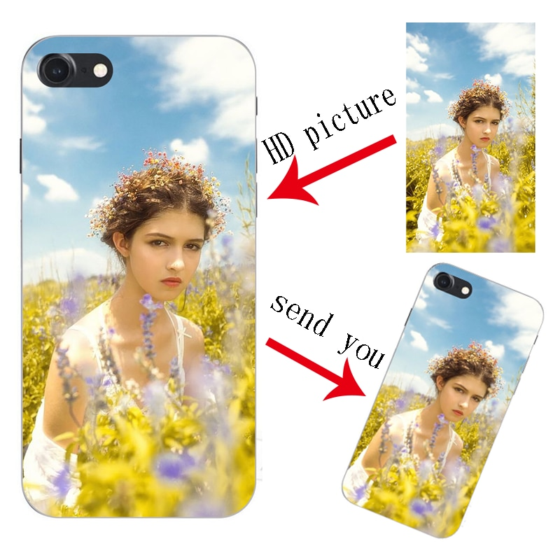 DIY diseño personalizado nombre personalizado impresión de su Foto imagen teléfono funda de silicona suave para Cubot Nova J7 R15 patrón de imágenes
