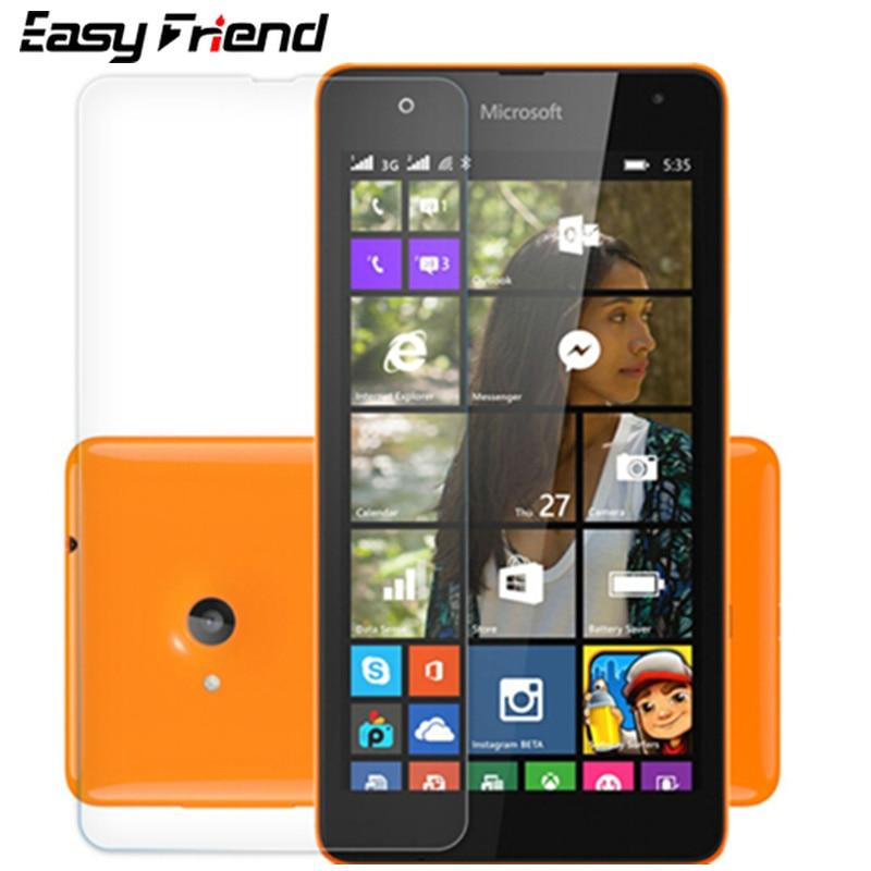 For Nokia Microsoft Lumia 535 N535 Screen Protector 9H Toughened Protective Film Guard Premium Tempe
