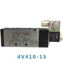 4V410-15 одинарный соленоид Пневматический регулирующий воздушный клапан 1/2
