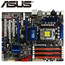 Placa base de escritorio usada original ASUS P6T SE DDR3 LGA 1366 24GB USB2.0 X58 placa base de escritorio