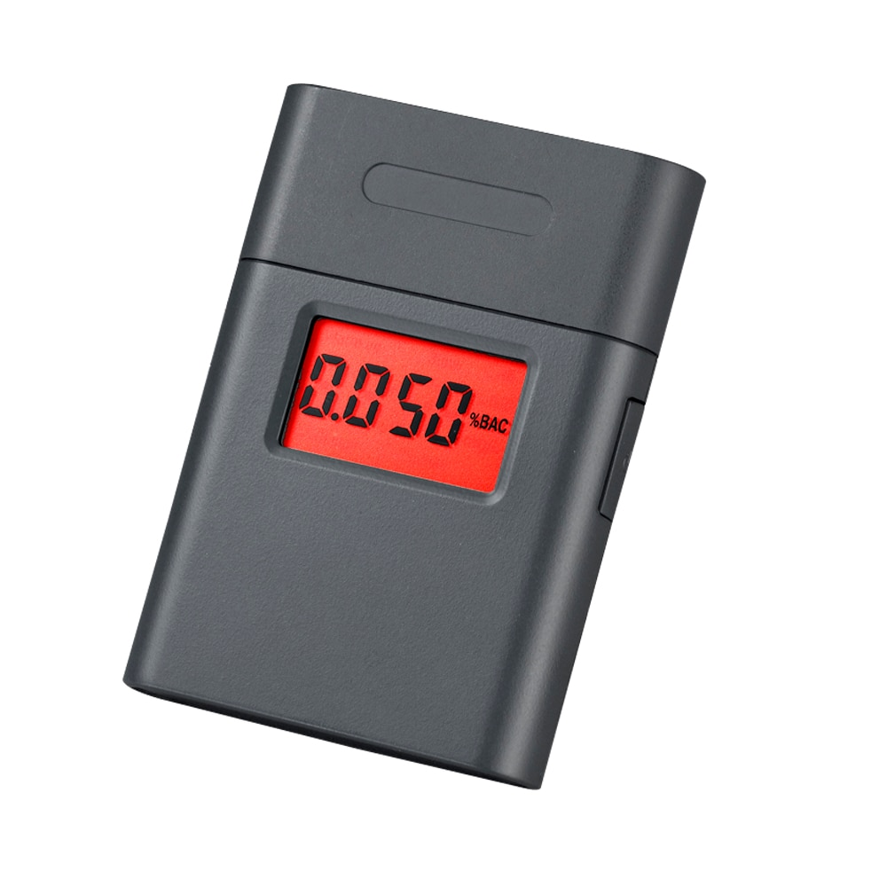 Новый ЖК-дисплей для дыхания Алкотестер для вина Алкотестер для водителей мундштук алкотестер